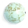Semi-Precious 14mm Round China Stabilized Turquoise